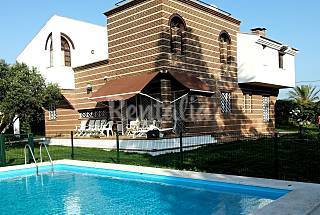 Villa with 5 bedrooms 2.5 km from the beach Huelva