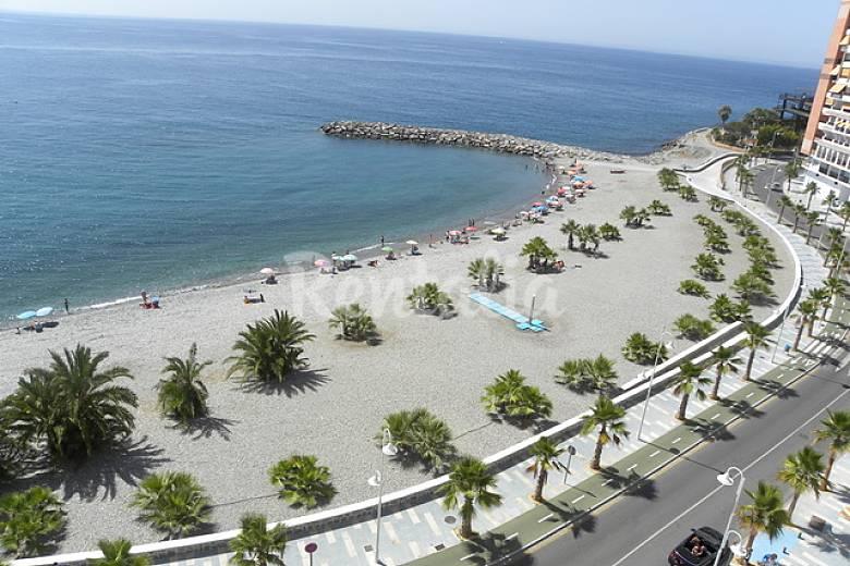 Apartamento en primera linea de playa almu car granada costa tropical - Apartamentos en granada playa ...