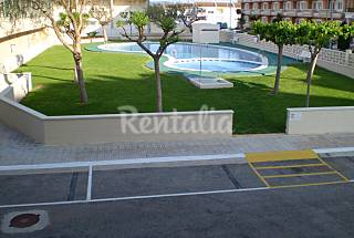 Apartamento en urbanización en 1ra linea de playa. Castellón