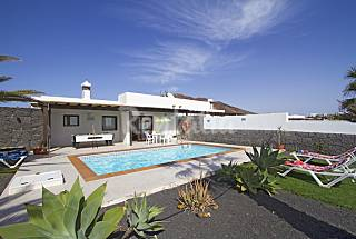 Villa for rent only 150 meters from the beach Lanzarote