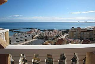 Apartment for 4-5 people on the beach front line Murcia
