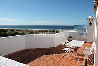 atico en primera linea de Playa para 5 personas Cádiz