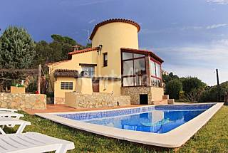 Villa Teules View con piscina y magnificas vistas Girona/Gerona