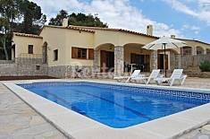 Villa pour 7-8 personnes à 3.5 km de la plage Gérone