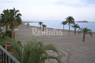 House for 5 people on the beach front line Almería