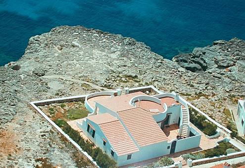 Totally equipped villa only 200 meters from the beach Minorca