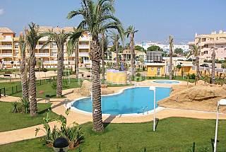 playa de las Marinas Denia Apartamentos piscina  Alicante