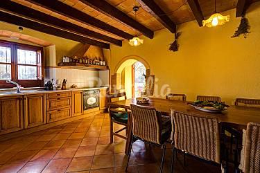Maison Cuisine Gérone Riudellots de la Selva Gîte maison