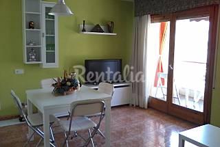 Apartamento en primera línea de mar con piscina  Girona/Gerona