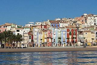 Apartment with 2 bedrooms on the beach front line Alicante