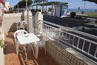 Apartamento en 1a línea de playa Málaga