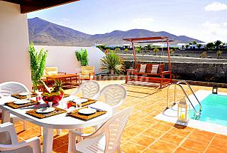 Villa with 3 bedrooms only 600 meters from the beach Lanzarote