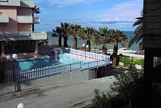 Apartamento com 2 quartos a 200 m da praia Ascoli Piceno