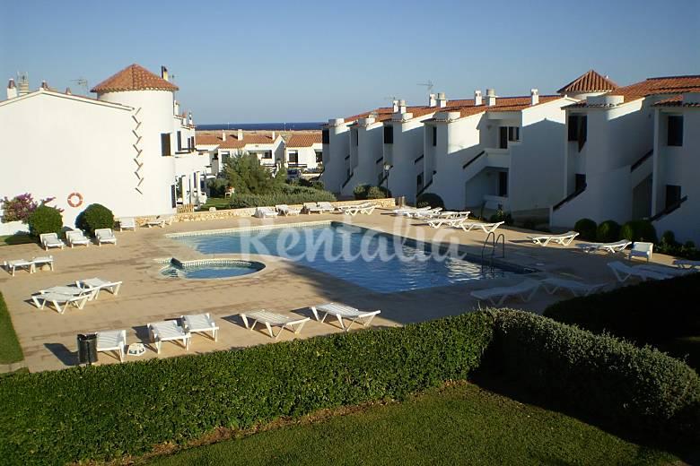 Apartamentos con piscina a 50 m mar los delfines ciutadella de menorca menorca - Apartamentos voramar menorca ...
