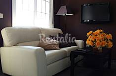 Apartment for 4 people on the beach front line Pontevedra