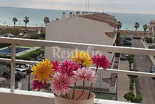 1ª linea playa totalmente equipado, piscina, tenis Castellón