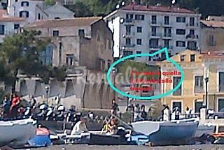Apartamento para 4-5 personas a 100 m de la playa Salerno