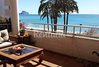 Apartamento de 3 habitaciones en 1a línea de playa Alicante
