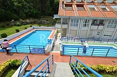 Playa la arena apartamentos con piscina  Cantabria