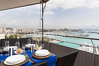 Appartamento per 4-5 persone nel centro di Palma Maiorca