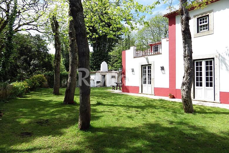 Villa jard n lisboa sintra casa en entorno rural - Casa rural sintra ...