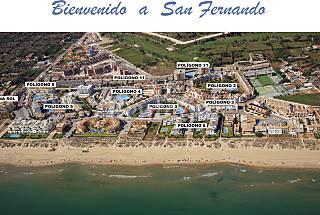 Playa de Oliva San Fernando  Valencia