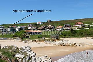 7 Apartments for rent on the beach front line Cantabria