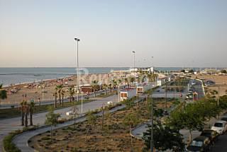 Apartamento para 4-6 personas 1º Linea de Playa Cádiz