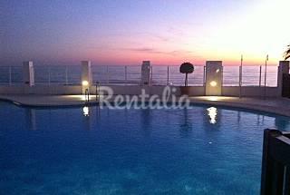 2 Apartamentos para 4-7 personas en 1a línea de playa   Málaga