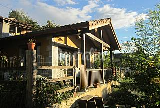 House for 3 people with private garden Asturias