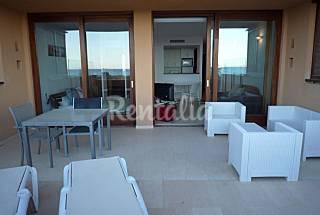 Ground floor flat on the beach. Bossa Gem A3 Ibiza