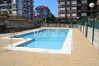 Ref. 2181: Atico de 3 habitaciones con piscina Cantabria