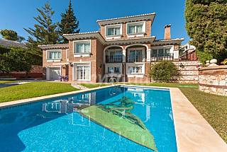 Villa in Benalmadena Costa only 100 meters from the beach Málaga