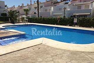 Huis met 2 slaapkamers op 150 meter van het strand Almería