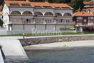 Apartamentos para 4 personas en 1a línea de playa A Coruña/La Coruña