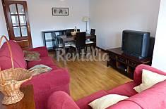 Apartamento de 2 habitaciones a 100 m de la playa Lugo