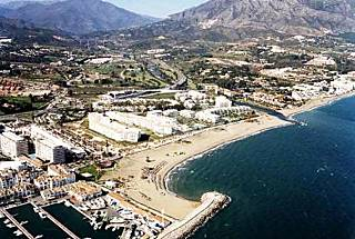 In the best of PuertoBanus,Marbella, on the beach. Málaga