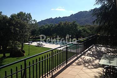 Villa Terraza Madrid Manzanares el Real Villa en entorno rural