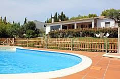 Villa with swimming pool and views Girona