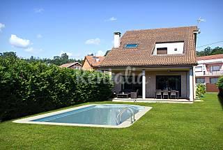 Casa para 8 personas a 500 m de la playa Pontevedra
