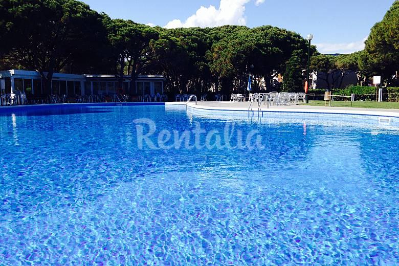 bc playa piscina apartamento ideal en gava mar gav