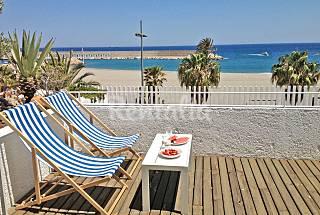 Apartamento para 4 personas en 1a línea de playa Almería