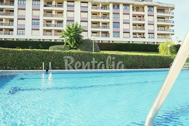 Apartamento con piscina y tenis en el sardinero - Piscinas en santander ...