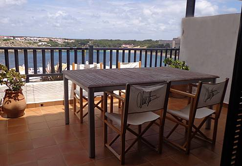 Apartment with spectacular views to the sea Minorca