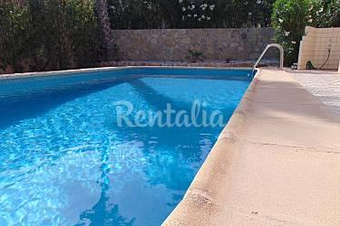 Villa con piscina y vistas al mar en calpe calpe calp for Piscinas calpe