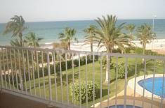 Nuevo, 2 habitaciones-1ª línea playa Alicante