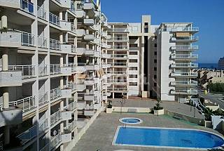Apartamento, piscina 2 habitaciones Castellón