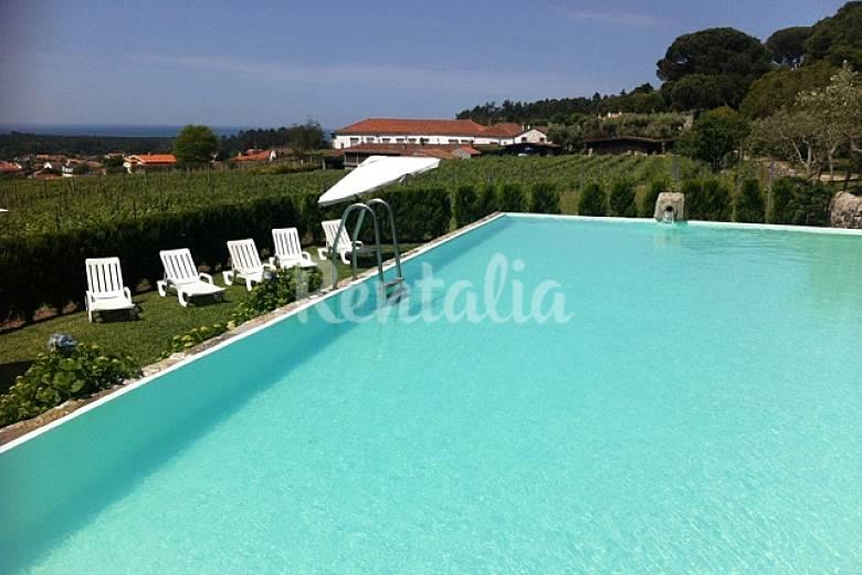 Casa de vacaciones con piscina 2 km de la playa anha for Casas de vacaciones en sevilla con piscina