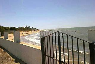 Villa de 2 habitaciones en 1a línea de playa Cádiz