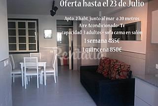 2 Estudios a 25 m de la playa  Castellón